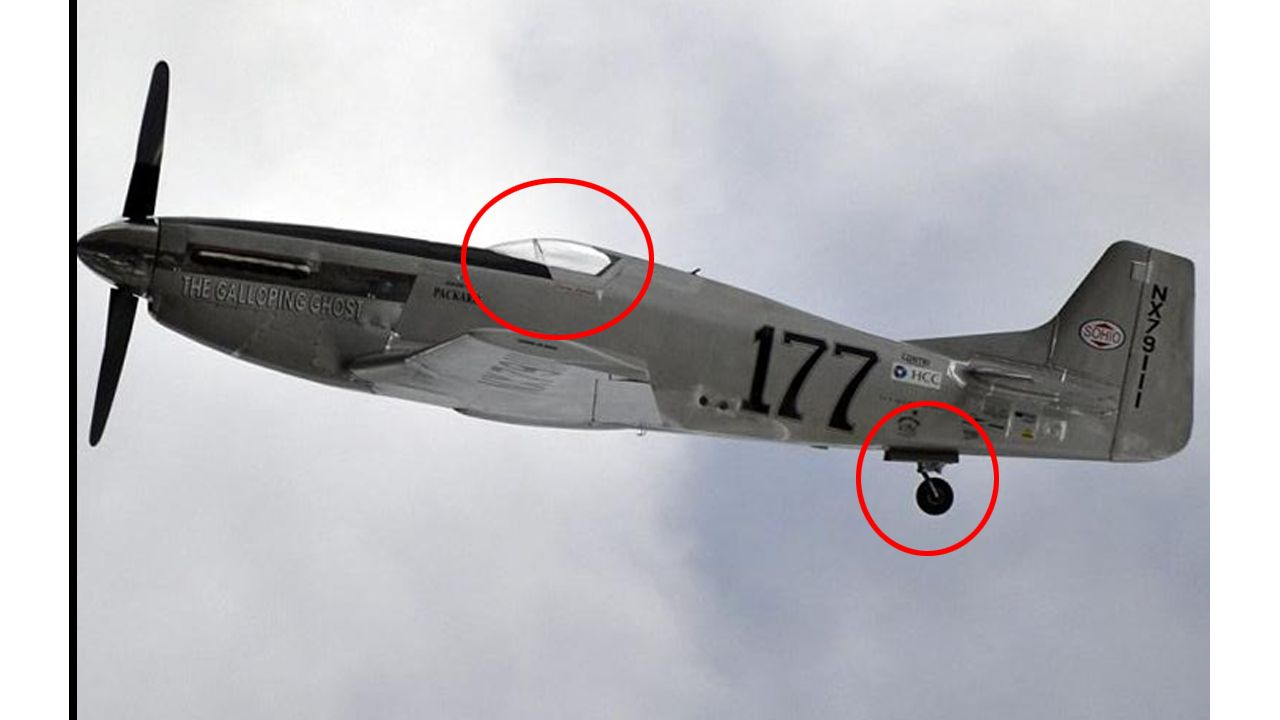 New Picture Shows Pilot Missing On Galloping Ghost Shortly