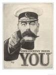 Lord Kitchener wants you!