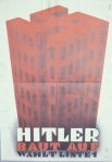 """Hitler Builds"".  From 1933."