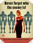 WARNING: Enemy may be hot!