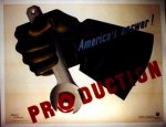 "WWII American - ""Production"", the message is clear."