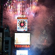 220px-New_Year_Ball_Drop_Event_for_2012_at_Times_Square