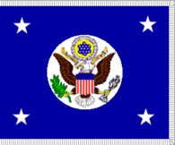 Flag of the Secretary of State