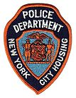 NYC Housing Authority Police Patch