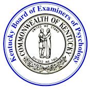 Kentucky Psychology Board Seal