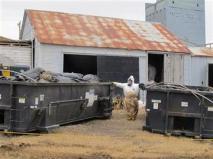Hazmat Cleanup Site