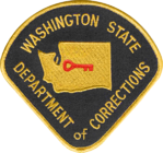 Washington Department of Corrections Shoulder Patch