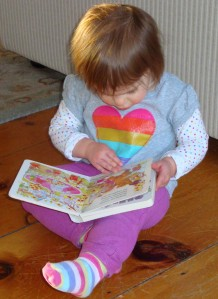 "Julia ""Reading a Book Written in Verse"
