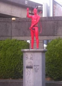 Vancouver-removes-devil-statue-with-erect-penis