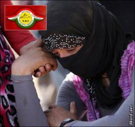 kurdish-national-congress-grieving-woman