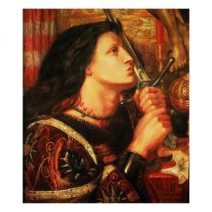 Rossetti Joan of Arc