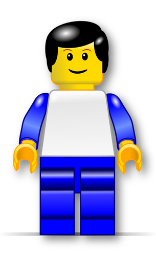 lego man vector - photo #22