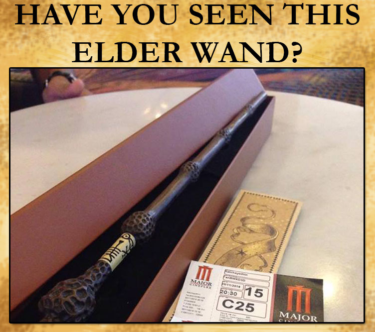 November 2016 jonathan turley for Elder wand stand