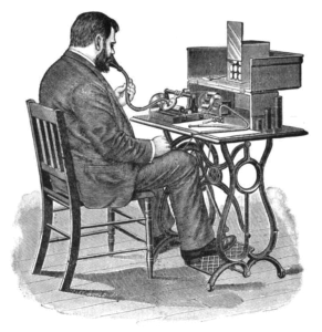 Dictation_using_cylinder_phonograph